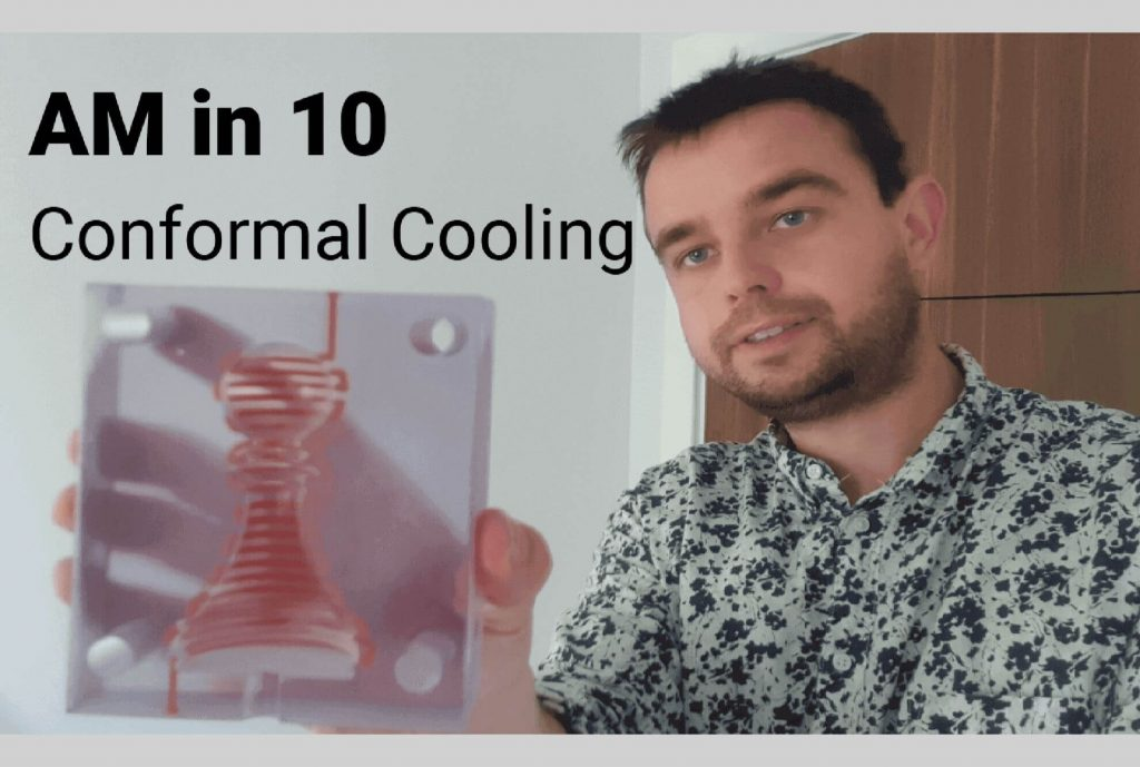 Featured image - AM in 10 - conformal cooling for mould tools